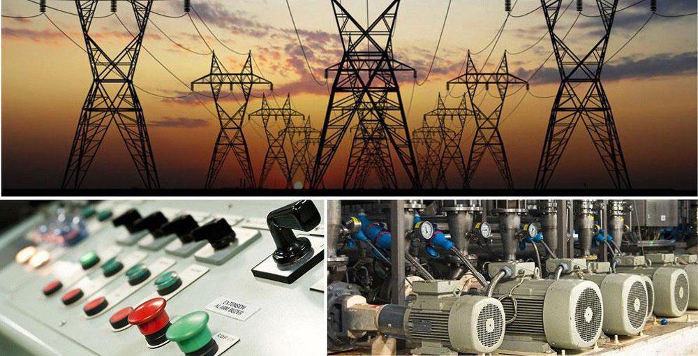 سیم کشی صنعتی - الو برق | پیمانکاری تاسیسات برقی - تبریز و شمالغرب کشور